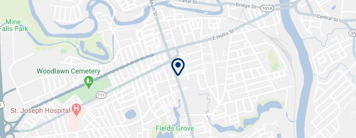 map of nashua hearing group location