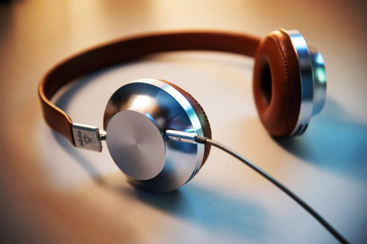A pair of headphones.
